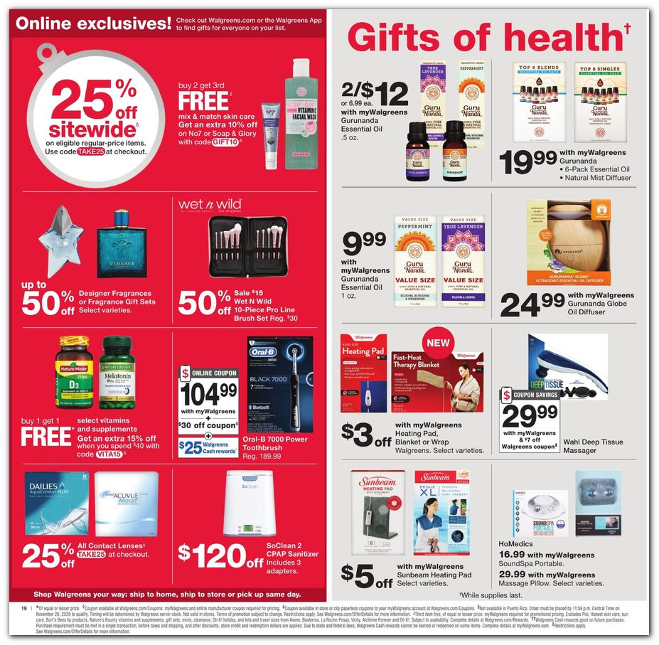 25% off Deals / Health Care