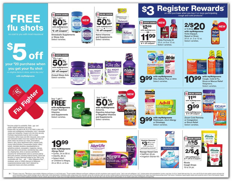 Flu Shot Coupon / Medicine