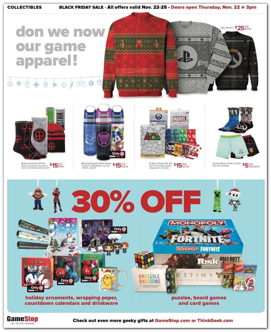 Holiday Gear / 30% Board Games