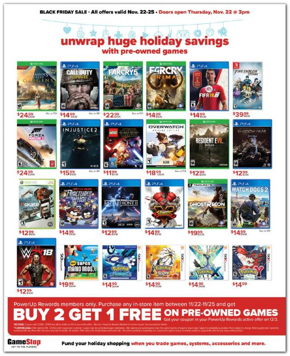 Preowned Games