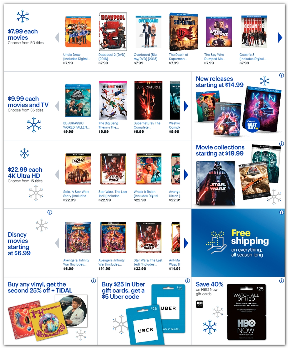 Blu-ray & 4K Movies cont.