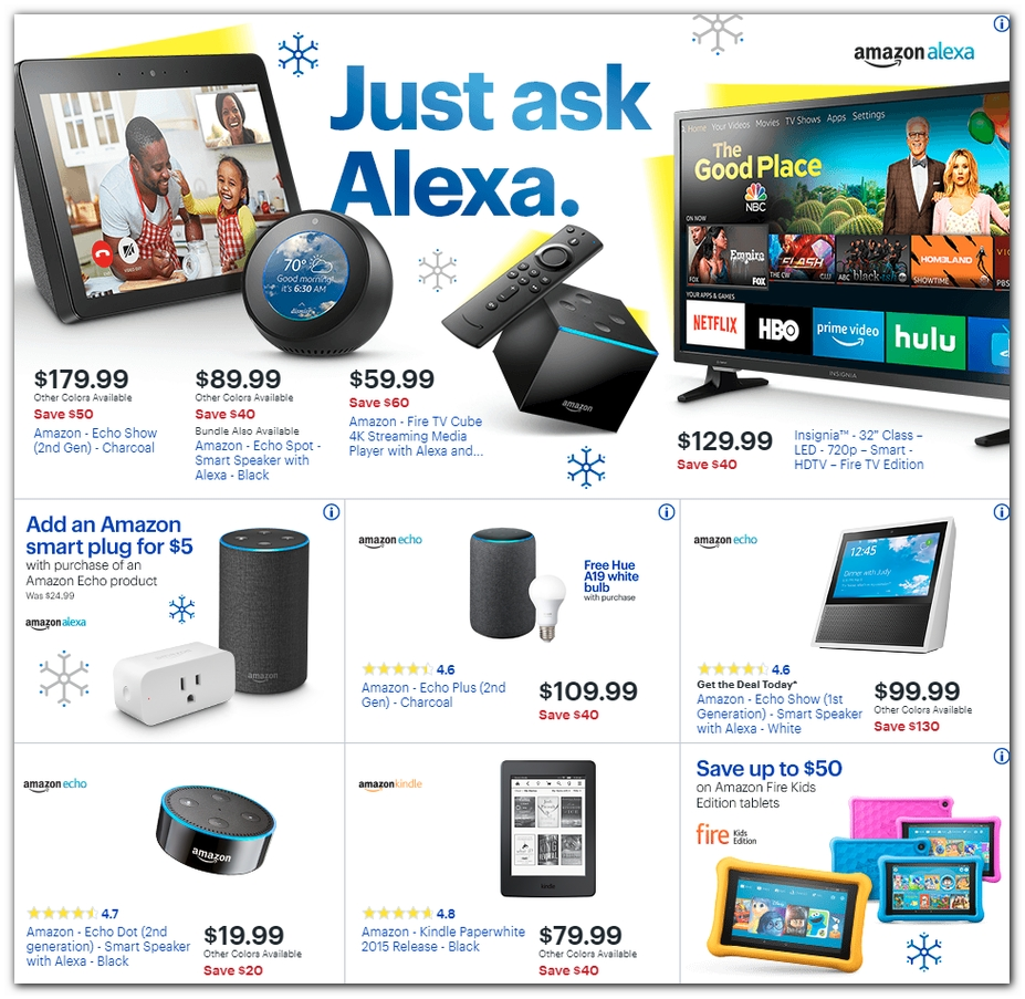 Echo Products / Kindle / Fire TV