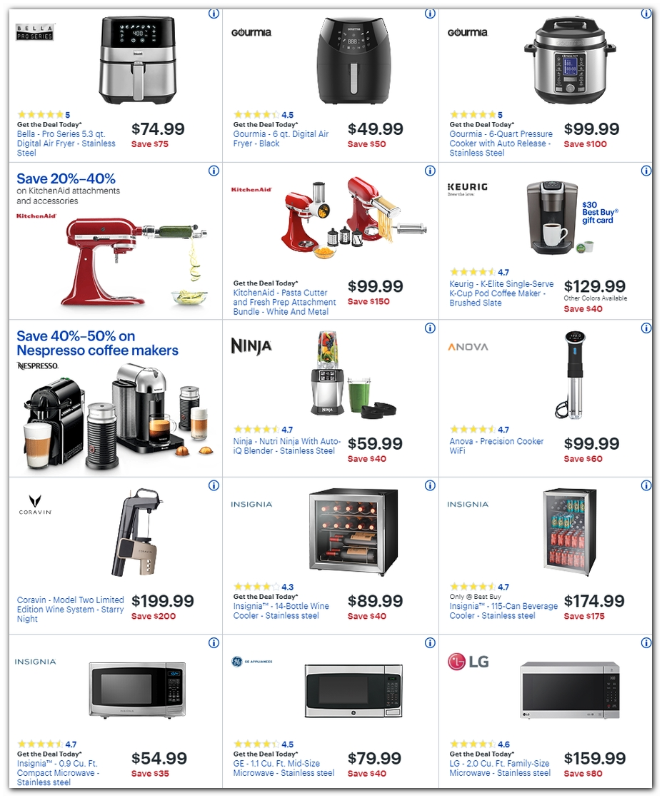 Small Appliances / Microwaves
