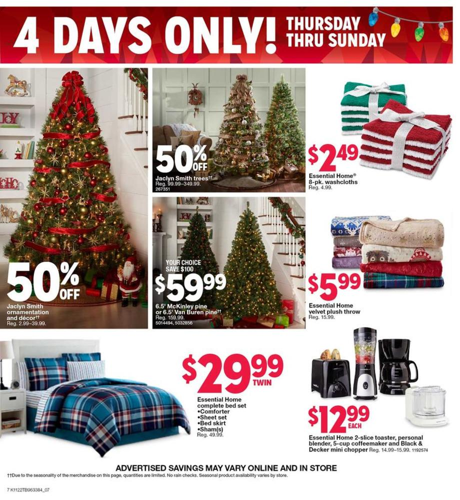 Holiday Decorations / Bedding