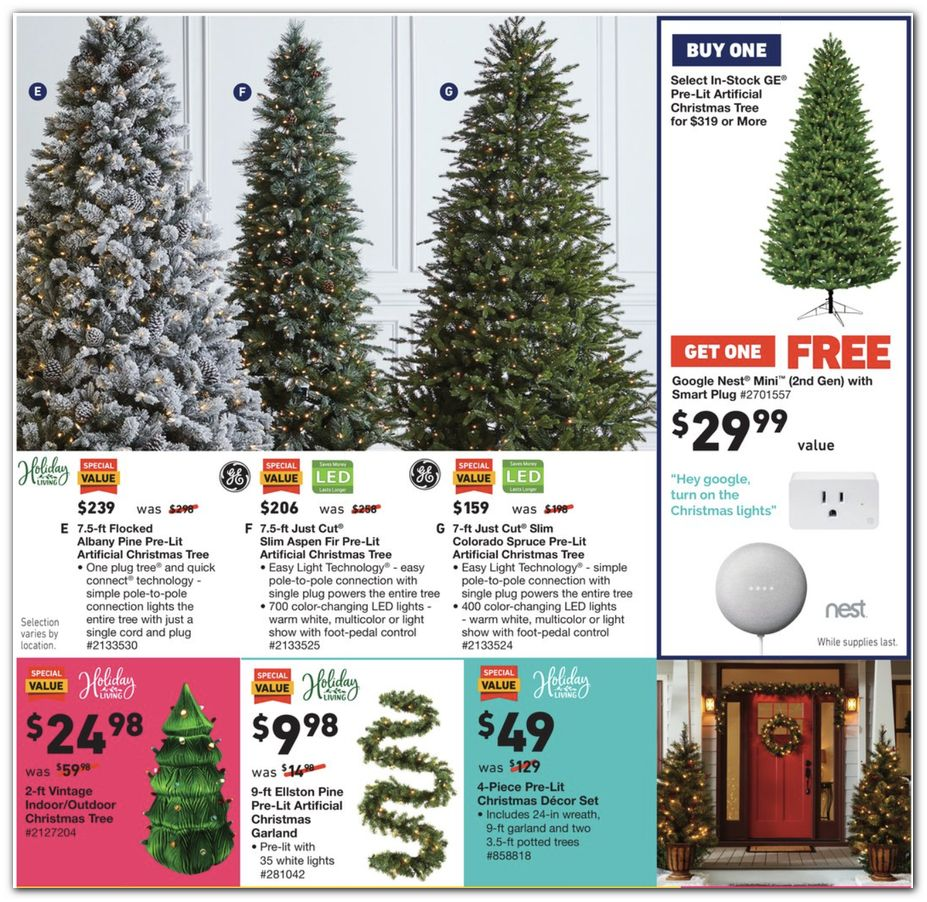 Holiday Trees / Outdoor Decorations