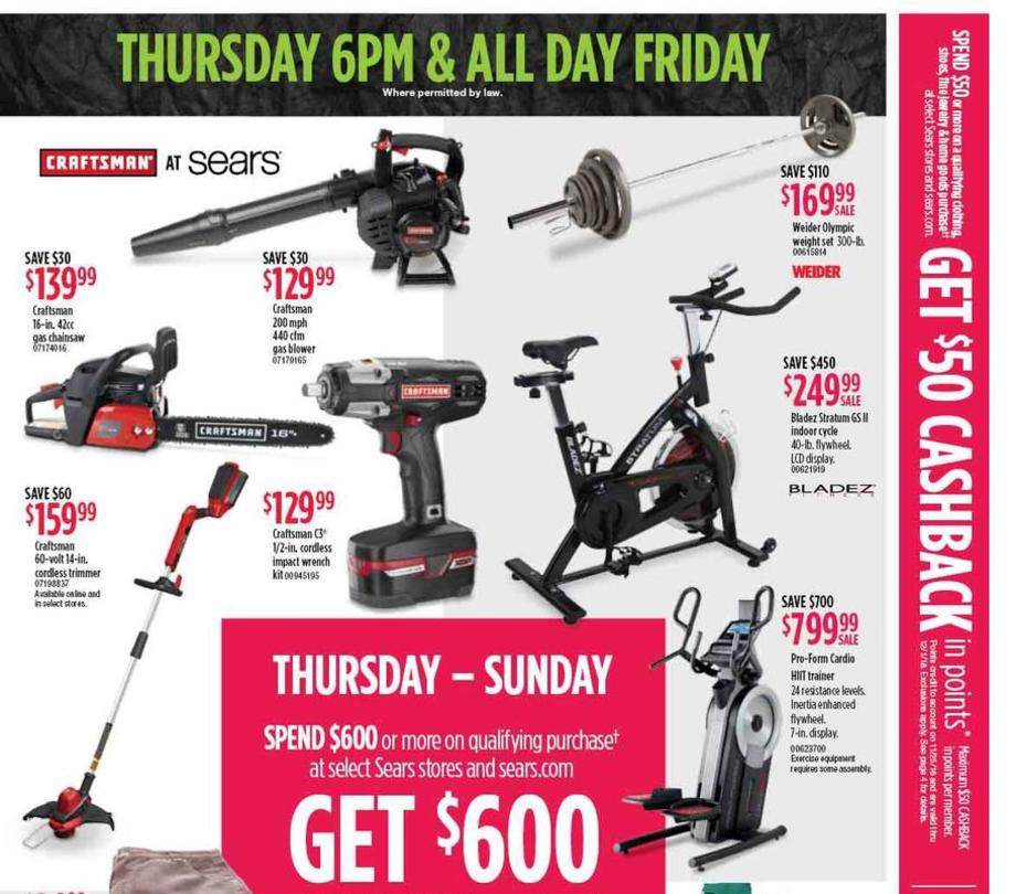 Black Friday Sears Deals
