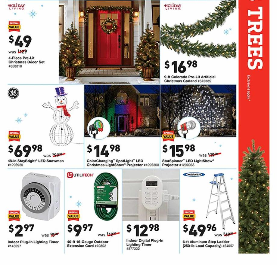 Holiday Decorations Page 3
