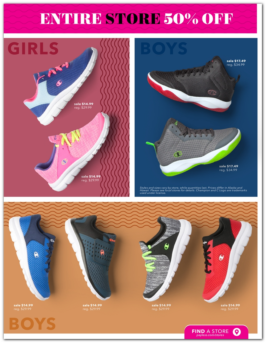6fb3232babaaf Black Friday - Payless Shoes Deals