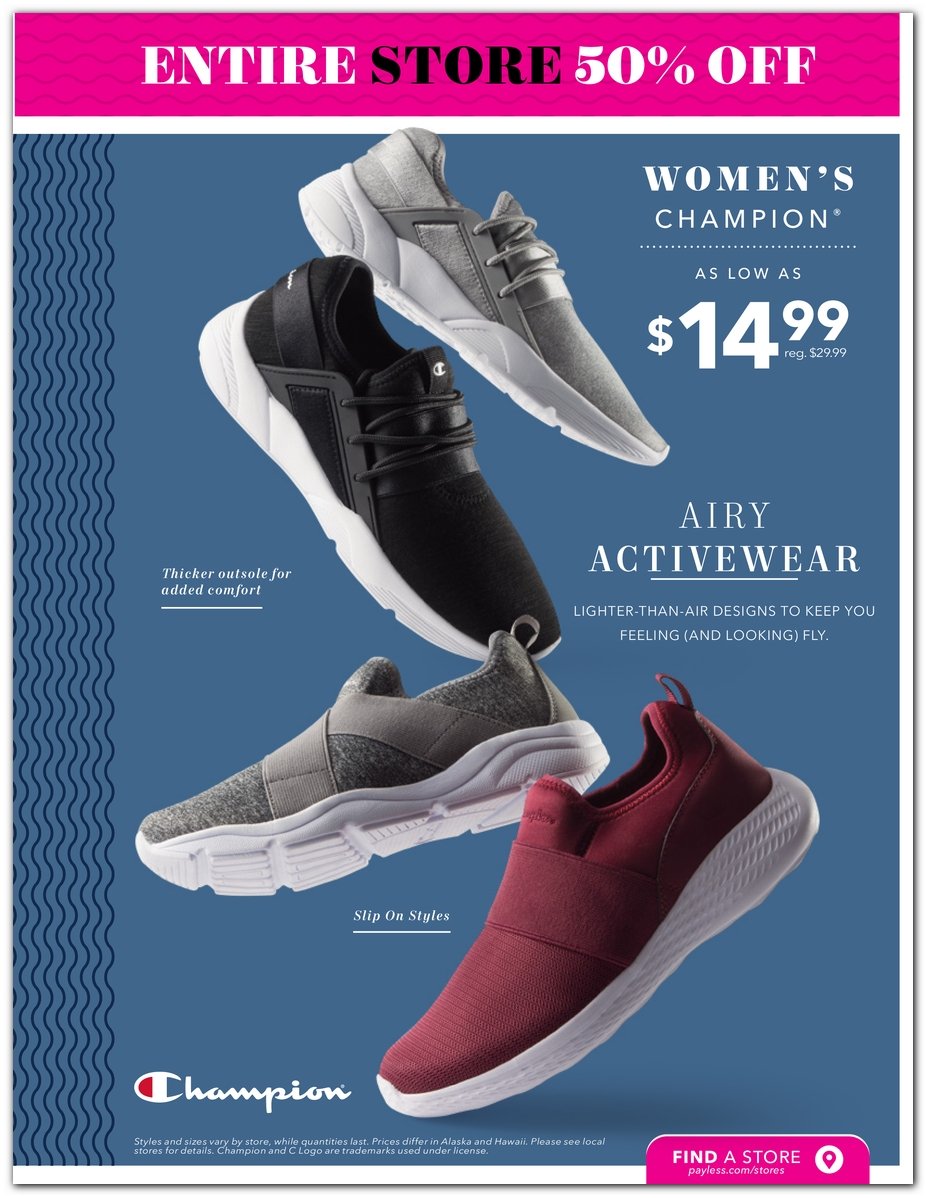 8384b43595b4 Black Friday - Payless Shoes Deals