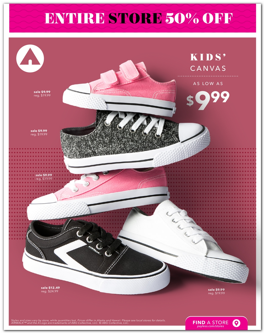 Black Friday - Payless Shoes Deals