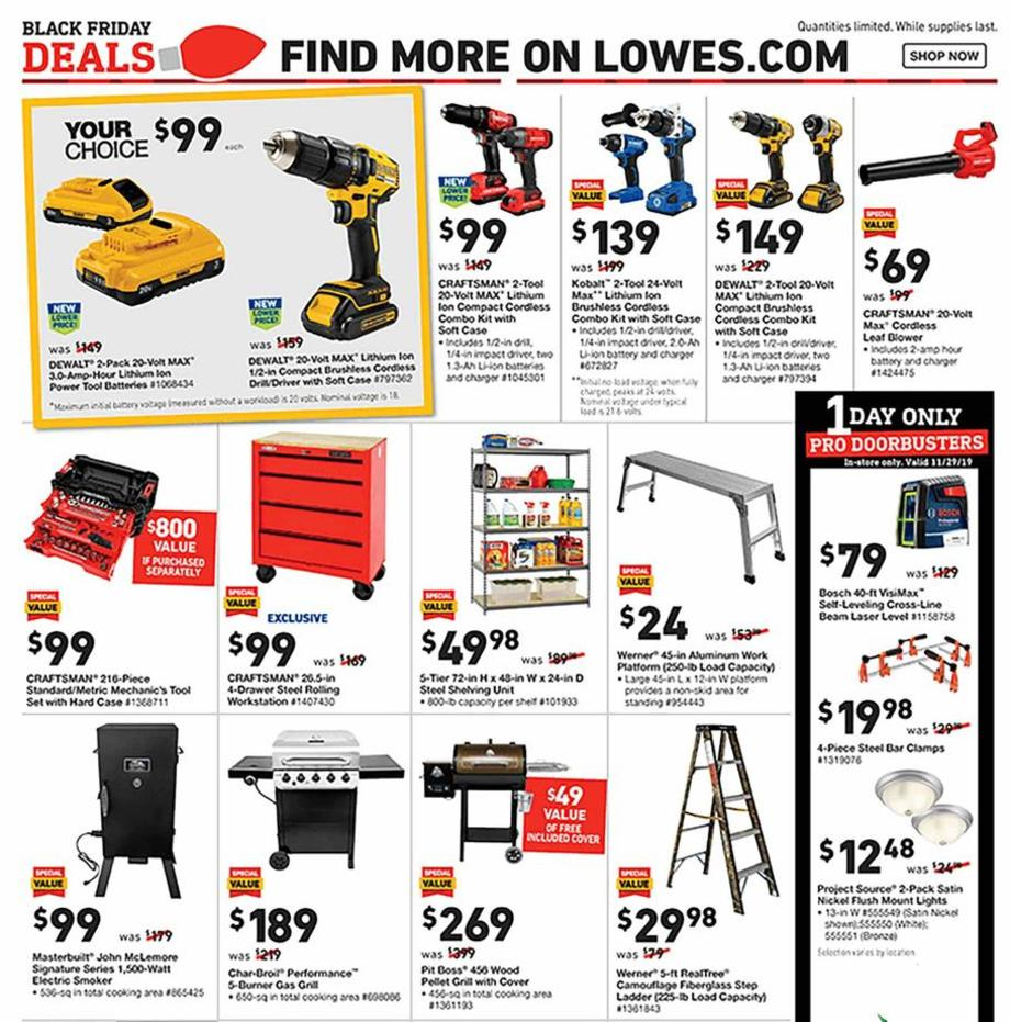 Power Tools / Grills / Ladder
