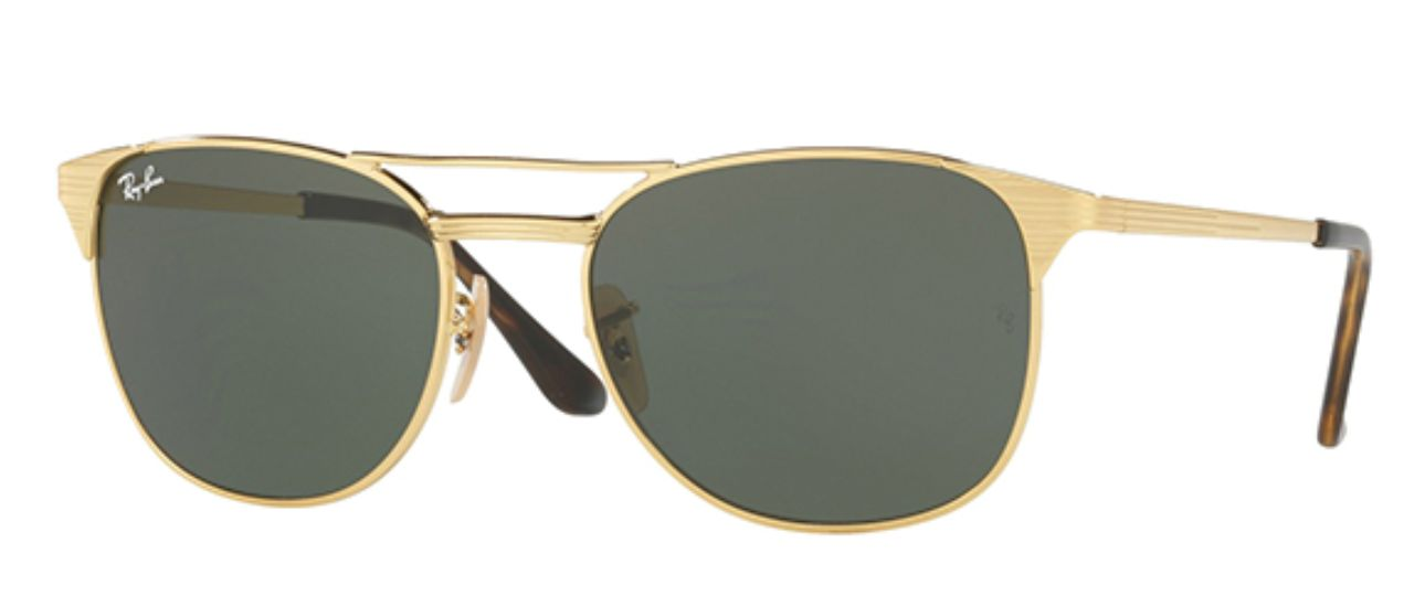 5bed2d513afa9 Polaroid Lightweight Polarized Modified Pilot Sunglasses  12 ...