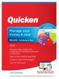 12 Months Quicken Deluxe 2019 Personal Finance Software