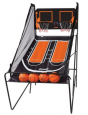 Franklin Sports Dual Hoops Arcade Style Basketball Game