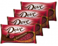 4-Pack Dove Promises Valentine Chocolate Candy Hearts