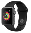 Apple Watch Series 3 38mm GPS Aluminum Smart Watch w/ Sport Band