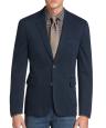 Deals List: 1905 Collection Men's Tailored Fit Canvas Soft Jacket (Navy)
