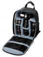 DSLR Camera Backpack w/ Adjustable Padded Dividers