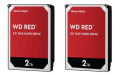 2-Pack WD Red WD20EFRX 2TB 64MB 3.5