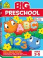 School Zone: Big Preschool Workbook