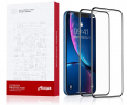 2-pack AINOPE iPhone XR/11 Tempered Glass Screen Protectors