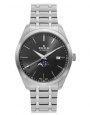 Edox Les Vauberts Men's Automatic Moonphase Stainless Steel Watch