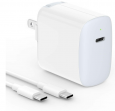 18W USB-C Wall Charger for Tablet / Smartphone