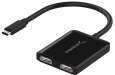 Sabrent DA-UCDH USB Type-C to Dual 4K 30Hz HDMI Adapter