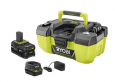 RYOBI 18V ONE+ Cordless 3 Gal. Project Wet/Dry Vacuum + Battery