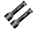 2-Pack Husky 500 Lumens LED Virtually Unbreakable Aluminum Flashlights