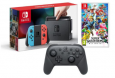 Nintendo Switch + Super Smash Bros.Ultimate + Pro Controller