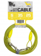 BV Pets Supplies 25 ft. 35 lb. Dog Tie-Out Cable