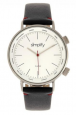Simplify The 3300 Unisex Leather Band Watch